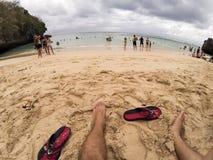 Padang Padang beach Stock Images