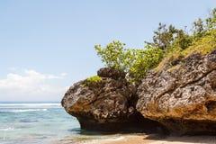 Padang Padang beach on the south of Bali island Stock Images