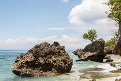 Padang Padang beach on the south of Bali island Royalty Free Stock Photo