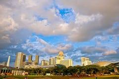 padang singapore Royaltyfri Bild