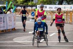 Padang Standard Chartered Marathon Royalty Free Stock Images