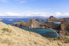 PADAR海岛,科莫多国家公园,印度尼西亚 库存图片