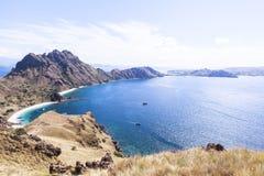 PADAR海岛,科莫多国家公园,印度尼西亚 免版税图库摄影
