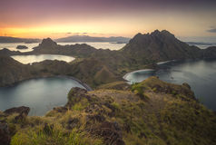 Padar Island Royalty Free Stock Photos