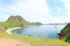 Padar Island, Flores stock photo