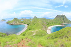 Padar Island, Flores stock photos