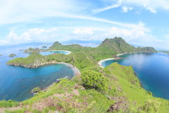 Padar Island, Flores royalty free stock image