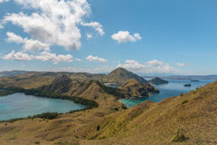 Padar Island in Komodo Indonesia Royalty Free Stock Image