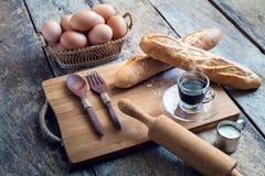 Padaria do croissant Imagem de Stock Royalty Free