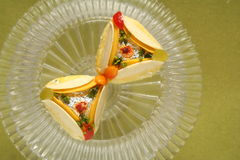 Padaria dos doces dos petiscos do alimento fesstival Fotografia de Stock