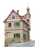 Padaria histórica em Forchtenberg imagens de stock
