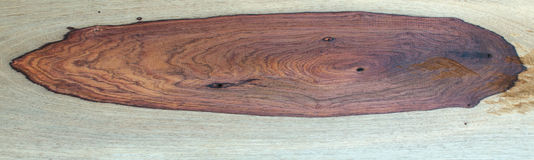 Padauk wood grain Stock Photo