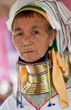 padaung plemienia kobieta Zdjęcia Stock