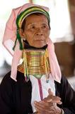 padaung portreta plemienia kobieta Fotografia Royalty Free