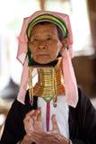Padaung Tribe woman Stock Photography