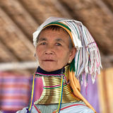 Padaung Tribe woman Royalty Free Stock Photography