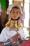 Padaung Tribe woman Stock Photography