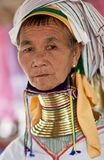 Padaung Tribe woman Stock Photos