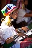 Padaung Tribe women Royalty Free Stock Photos