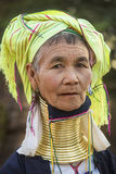 Padaung Woman - Myanmar (Burma) Royalty Free Stock Photo