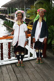 Padaung women Royalty Free Stock Photo