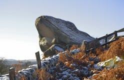 Paddamunnen vaggar, Derbyshire Royaltyfria Bilder