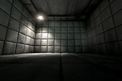 Padded Cell Dirty Spotlight Royalty Free Stock Images