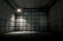 Padded Cell Dirty Spotlight Stock Image