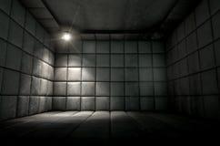 Padded Cell Dirty Spotlight Stock Image