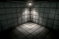 Padded Cell Dirty Spotlight Royalty Free Stock Photo