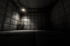 Padded Cell And Empty Chair Royalty Free Stock Photography