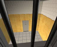 Padded Cell in a Mental Hospital Royalty Free Stock Photo
