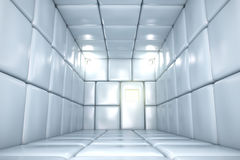 Padded room. In mental hospital. 3D render Royalty Free Stock Photography