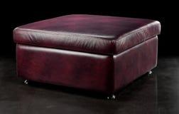 Padded stool Royalty Free Stock Photography