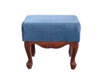 Padded stool Stock Photo