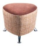 Padded stool Royalty Free Stock Image