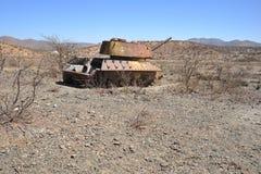 Padded tanks royalty free stock image