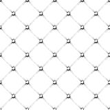 Padded upholstery buttoned rhomb vector Royalty Free Stock Image
