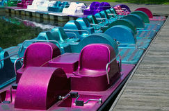 Paddel-Boote Lizenzfreie Stockfotografie