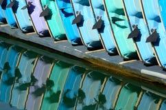 Paddel-Boote lizenzfreies stockbild