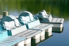Paddel-Boote Stockbilder
