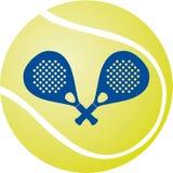 Paddel - Tennis Lizenzfreies Stockbild