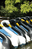 Paddelboote Lizenzfreies Stockfoto