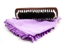 Padding brush with duster Royalty Free Stock Images