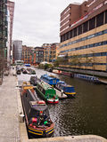 Paddington盆地,伦敦 免版税图库摄影