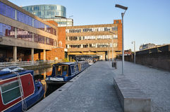 Paddington basin in London Royalty Free Stock Photos