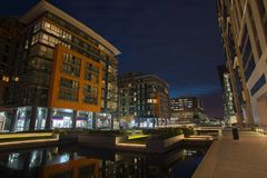 Paddington Basin Royalty Free Stock Images