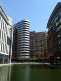 Paddington Basin office buildings Stock Images