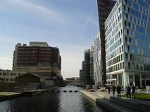 Paddington Basin office buildings Stock Photos