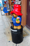 Paddington Bear at at a shop on the Portobello Road in Notting Hill, London, UK Royalty Free Stock Photos